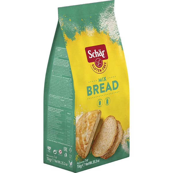 """Мучная смесь без глютена для выпечки хлеба """"Mix-B"""" Dr. Schar 1000 г"""