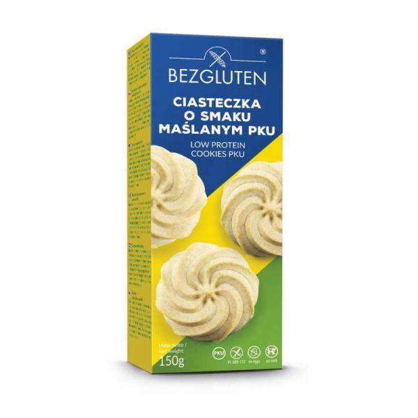 Печенье без глютена и без лактозы песочное масляное низкобелковое ФКУ Bezgluten 150 г